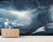 Big Game Ice Planet mural wallpaper living room preview