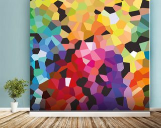 Lovely Fooling Around Mural Wallpaper Part 25