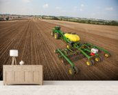 New Deere 2014 wall mural living room preview