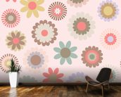 Floral Frenzy mural wallpaper kitchen preview