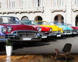 Colorful American Classic Cars