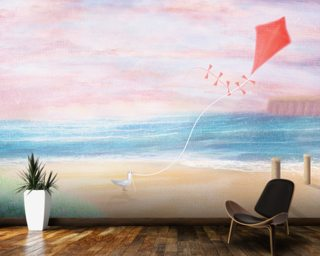Coastal Sky 3 Wallpaper Wall Murals