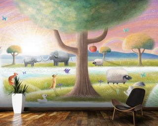 Garden Of Eden Wallpaper Wall Murals
