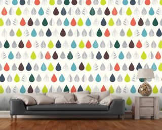 Autumn Leaves Wall Mural Wallpaper Wall Murals