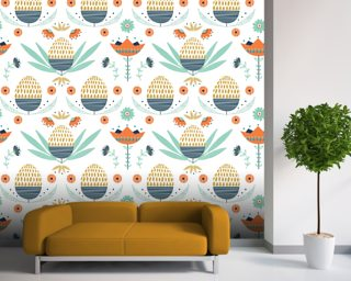 Floral Wallpaper Wallpaper Wall Murals