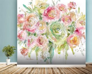 Graceful Bouquet Wallpaper Wall Murals