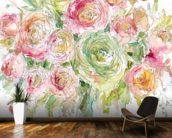Graceful Bouquet wall mural kitchen preview