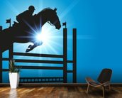 Show Jumper mural wallpaper kitchen preview