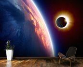 Sun Eclipse wall mural kitchen preview