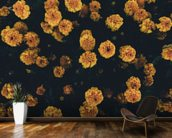 Dark Botanics Floral Wallpaper wall mural kitchen preview