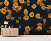 Dark Botanics Floral Wallpaper wall mural living room preview