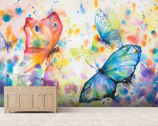 Butterfly Wallpaper Wallsauce USA