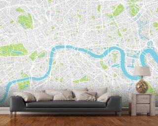 World Map Wallpaper Wall Murals Wallsauce USA