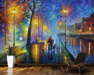 Melody of the night Wall Mural Wallpaper Wall Murals