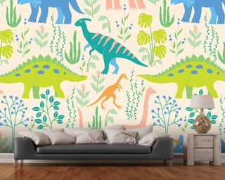 The Tiny Garden Wall Murals & Wallpaper