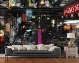 Dystopia Wallpaper Wall Murals