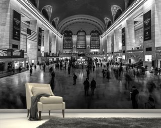 Grand Central Station Interior Wallpaper Wall Murals