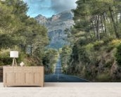 A Road Through the Majorcan Countryside wall mural living room preview