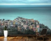 Corniglia on the Cliffs wall mural kitchen preview