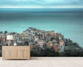 Corniglia on the Cliffs wall mural living room preview