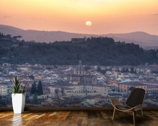 Florence Sunset Mural Wallpaper Wall Murals Wallpaper