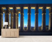 Luxor Temple Night wall mural living room preview
