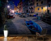 Riomaggiore Fishing Boats wall mural kitchen preview