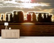 Light Ancients mural wallpaper living room preview