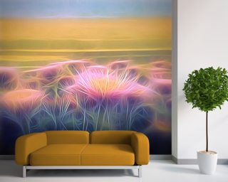 Light And Day Seaside Daisy wall mural