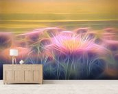Light And Day Seaside Daisy wall mural living room preview