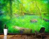 Light Bluebell Glade wall mural kitchen preview