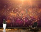 Light Dancing Grass wall mural kitchen preview