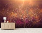 Light Dancing Grass wall mural living room preview