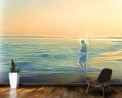 Light Evoke wall mural kitchen preview