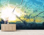 Light Frost wall mural living room preview