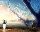 Light Frozen Morning wallpaper mural kitchen preview