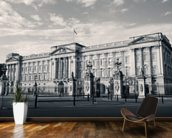 Buckingham Palace B/W wallpaper mural kitchen preview