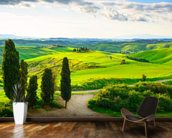 Rural Tuscany wallpaper mural kitchen preview