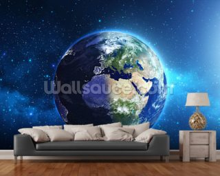 Planet Earth Wall Mural Wall Murals Wallpaper