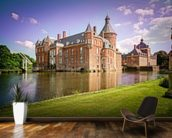 Castle and Moat, Anholt mural wallpaper kitchen preview