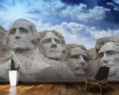Mount Rushmore, South Dakota mural wallpaper kitchen preview