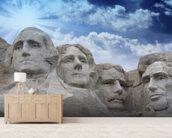 Mount Rushmore, South Dakota mural wallpaper living room preview