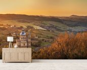 Montepulciano, Church of San Biagio wallpaper mural living room preview
