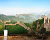 Great Wall of China Landscape mural wallpaper kitchen preview