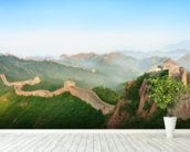 Great Wall of China Landscape mural wallpaper in-room view