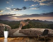Great Wall of China wallpaper mural kitchen preview