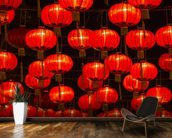 Chinese New Year Lanterns wall mural kitchen preview