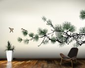 Pain Tree wall mural kitchen preview