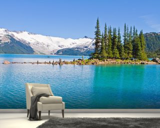 Garibaldi Lake, BC Wallpaper Mural Wall Murals Wallpaper