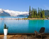 Garibaldi Lake, BC wallpaper mural kitchen preview
